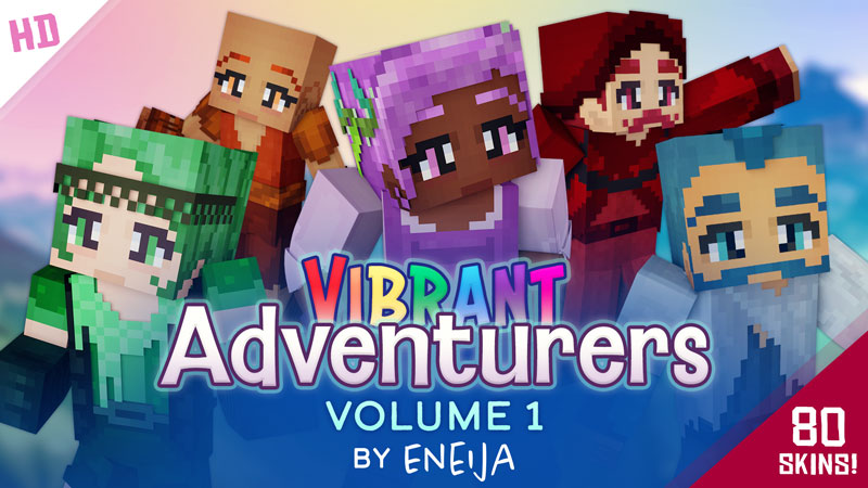 Vibrant Adventurers Volume 1 on the Minecraft Marketplace by Eneija
