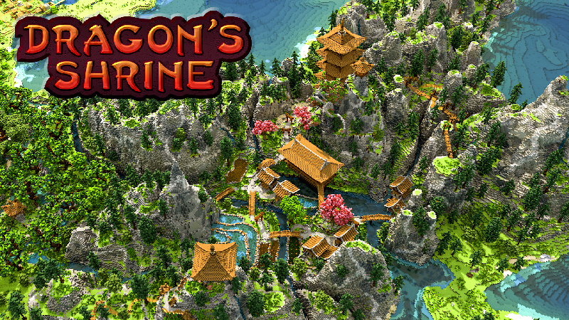 Dragons Shrine on the Minecraft Marketplace by Blockception