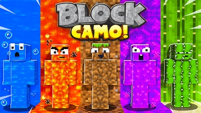 Block Camo on the Minecraft Marketplace by Razzleberries