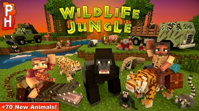 Wildlife Jungle on the Minecraft Marketplace by PixelHeads