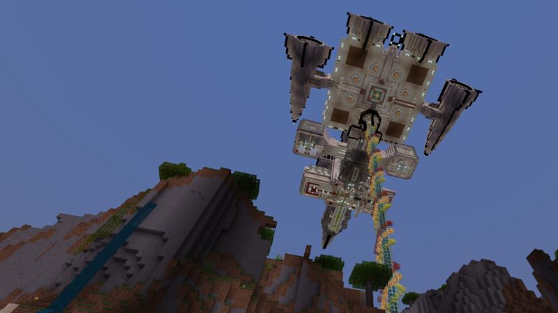 Sky Ship: Survival Base by Dragnoz