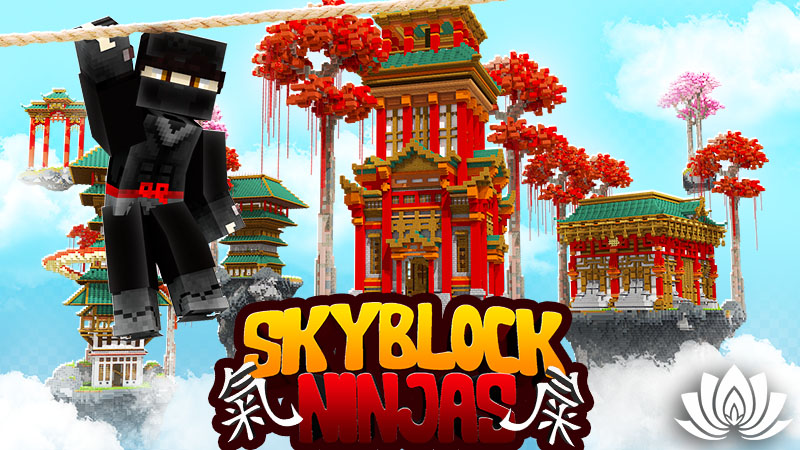 Skyblock Ninjas on the Minecraft Marketplace by IriumBT