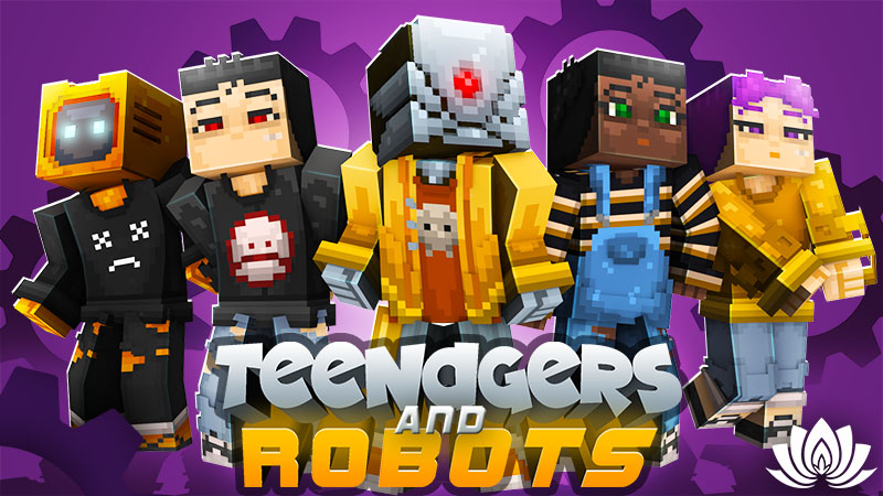 Teenagers and Robots on the Minecraft Marketplace by IriumBT