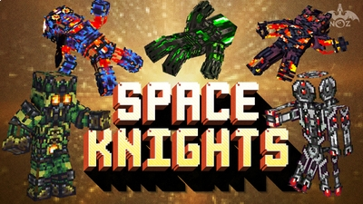 Space Knights on the Minecraft Marketplace by Dragnoz