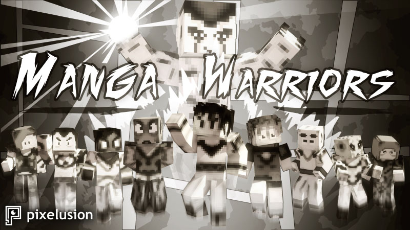 Manga Warriors HD on the Minecraft Marketplace by Pixelusion