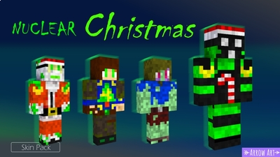 Nuclear Christmas on the Minecraft Marketplace by Arrow Art Games