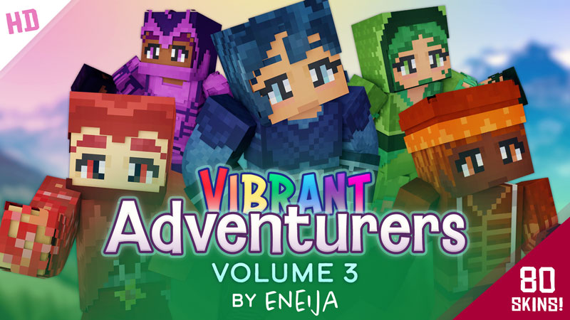 Vibrant Adventurers Volume 3 on the Minecraft Marketplace by Eneija