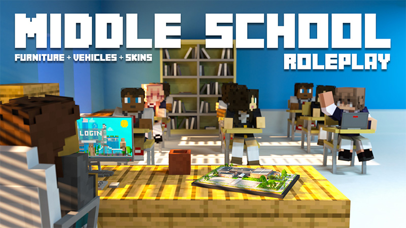 Middle School  Roleplay on the Minecraft Marketplace by Aurrora