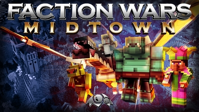 Faction Wars Midtown on the Minecraft Marketplace by Monster Egg Studios