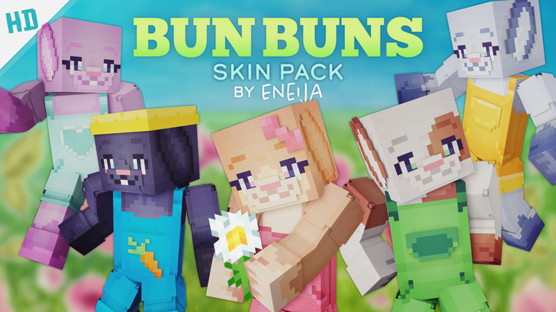Bun Buns HD on the Minecraft Marketplace by Eneija