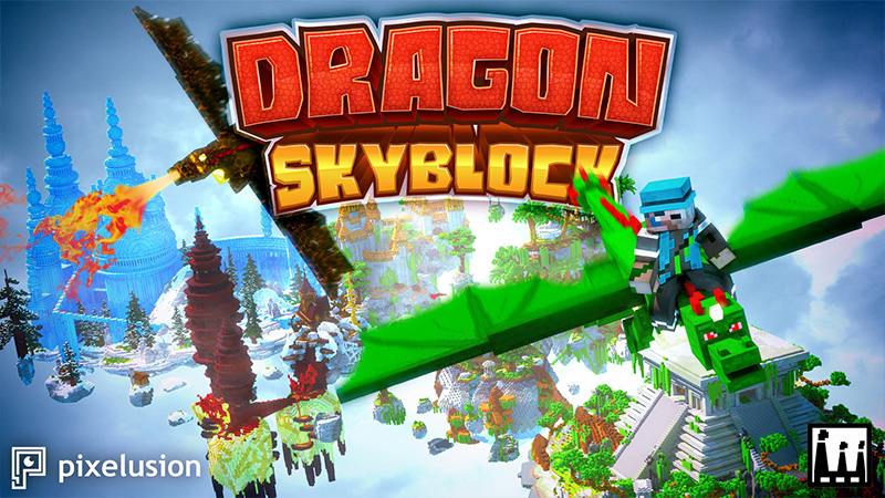Dragon Skyblock on the Minecraft Marketplace by Pixelusion