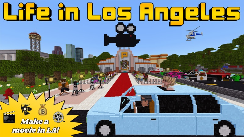 Life in Los Angeles on the Minecraft Marketplace by Lifeboat