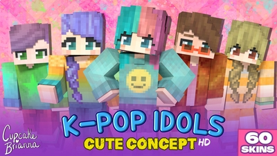 Kpop Idols Cute Concept HD on the Minecraft Marketplace by CupcakeBrianna