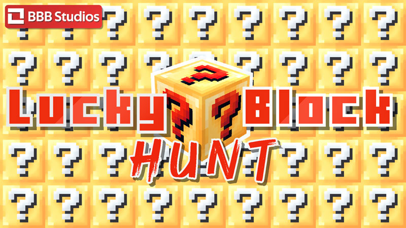 Lucky Block Hunt on the Minecraft Marketplace by BBB Studios