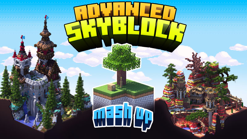 Advanced Skyblock Mashup on the Minecraft Marketplace by Entity Builds
