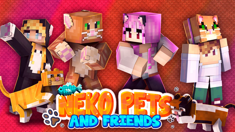Neko Pets and Friends on the Minecraft Marketplace by BBB Studios