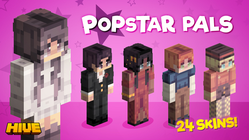 Popstar Pals on the Minecraft Marketplace by The Hive