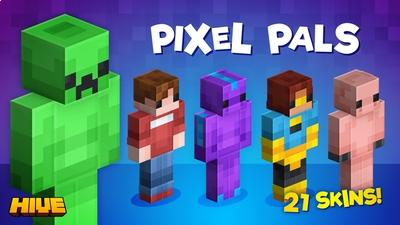 Pixel Pals on the Minecraft Marketplace by The Hive