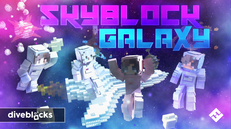 Skyblock Galaxy on the Minecraft Marketplace by Diveblocks