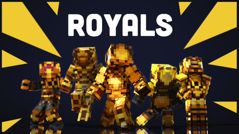 Automaton III Royals on the Minecraft Marketplace by Sapphire Studios