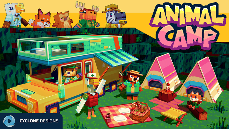 Animal Camp on the Minecraft Marketplace by Cyclone