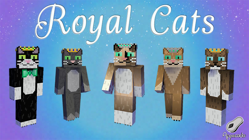 Royal Cats HD on the Minecraft Marketplace by Appacado