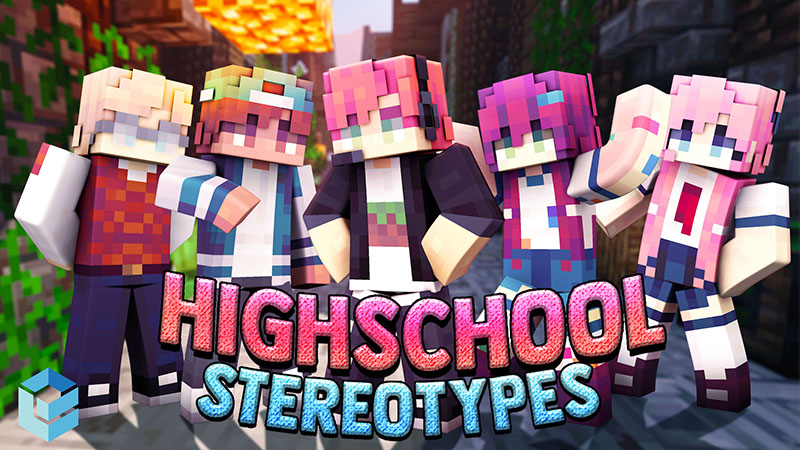 High School Stereotypes on the Minecraft Marketplace by Entity Builds