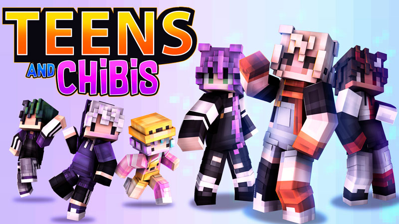 Teens and Chibis on the Minecraft Marketplace by BBB Studios