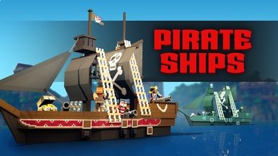 Pirate Ships on the Minecraft Marketplace by Team Vaeron
