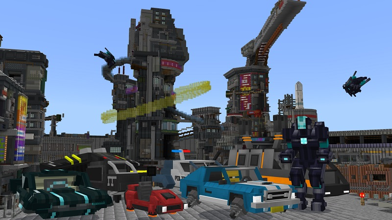 Technopunk on the Minecraft Marketplace by BBB Studios