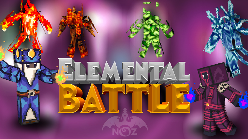 Elemental Battle on the Minecraft Marketplace by Dragnoz