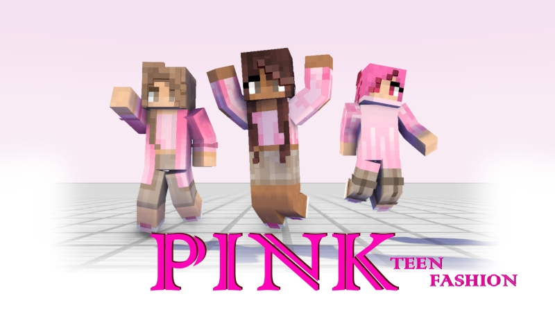 Pink Teen Fashion on the Minecraft Marketplace by Arrow Art Games