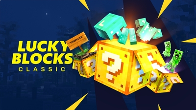Lucky Blocks on the Minecraft Marketplace by Spark Universe