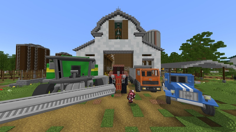 Sunrise Farm on the Minecraft Marketplace by BBB Studios