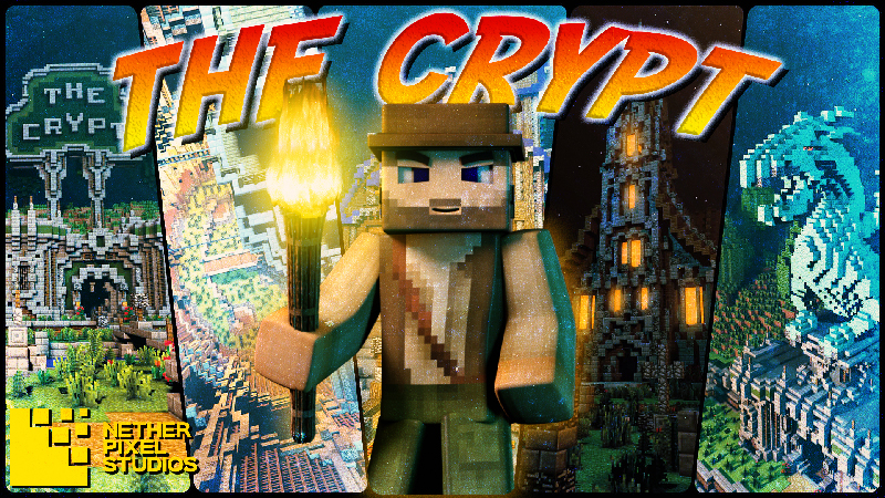 The Crypt on the Minecraft Marketplace by Netherpixel