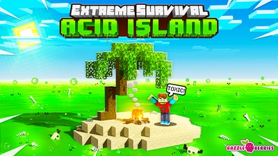 Extreme Survival Acid Island on the Minecraft Marketplace by Razzleberries