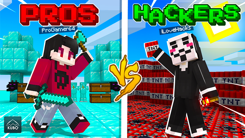 Pros Vs Hackers on the Minecraft Marketplace by Kubo Studios