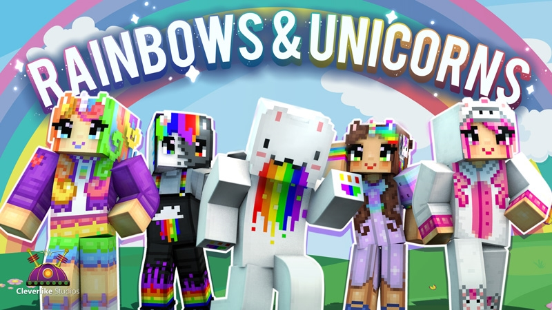 Rainbows  Unicorns on the Minecraft Marketplace by Cleverlike