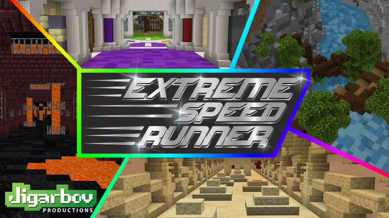 Extreme Speed Runner on the Minecraft Marketplace by Jigarbov Productions