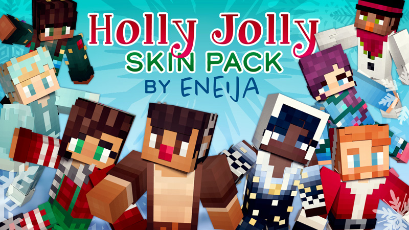 Holly Jolly Skin Pack on the Minecraft Marketplace by Eneija
