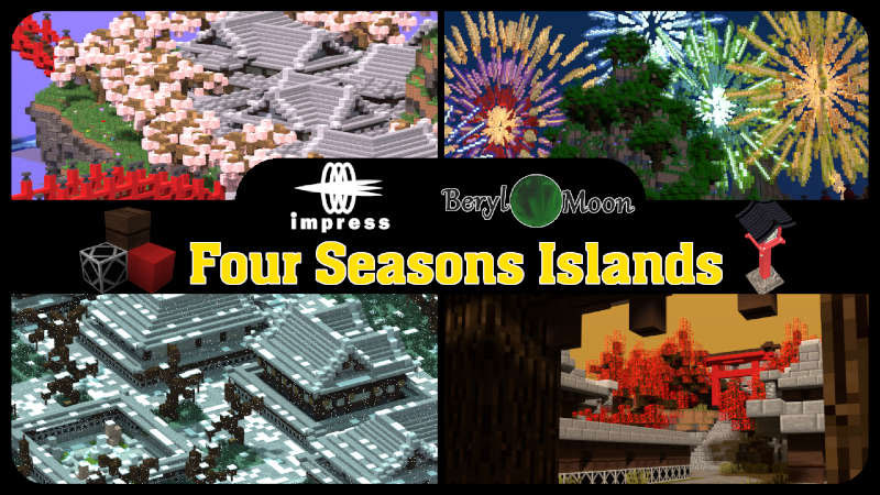 Four Seasons Islands on the Minecraft Marketplace by Impress