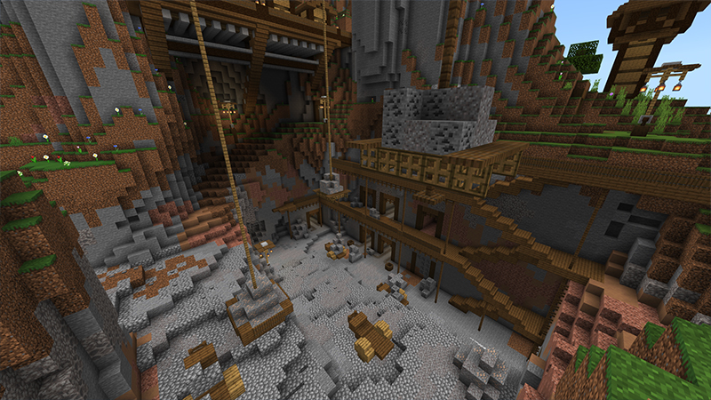 Quarry by Monster Egg Studios - Minecraft Marketplace