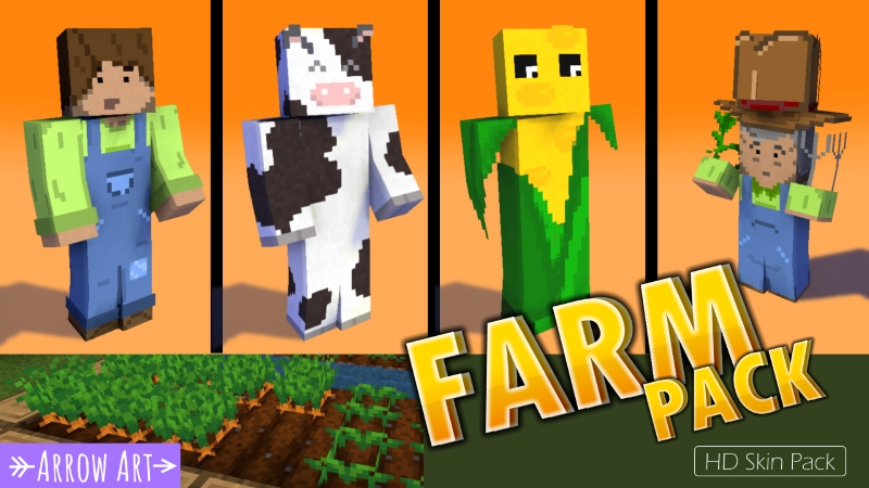 Farm Pack on the Minecraft Marketplace by Arrow Art Games