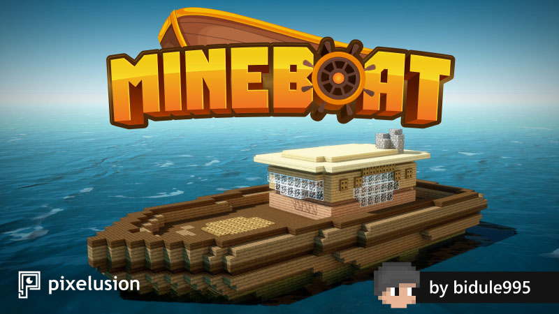 Mineboat on the Minecraft Marketplace by Pixelusion