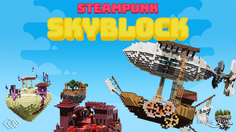 Steampunk Skyblock on the Minecraft Marketplace by Tetrascape