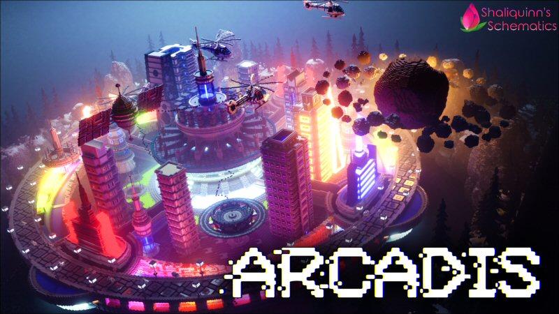 Arcadis on the Minecraft Marketplace by Shaliquinn's Schematics