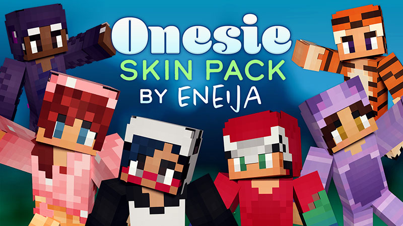 Onesie Skin Pack on the Minecraft Marketplace by Eneija