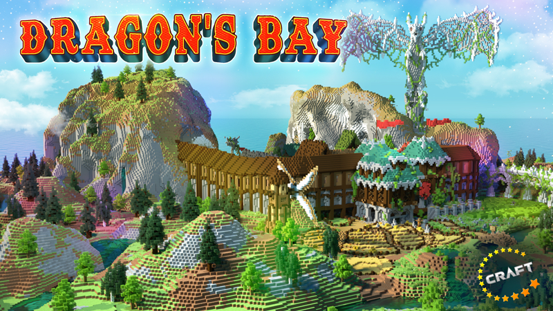 Dragons Bay on the Minecraft Marketplace by The Craft Stars