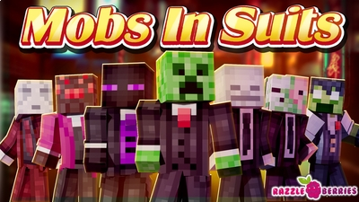 Mobs in Suits on the Minecraft Marketplace by Razzleberries