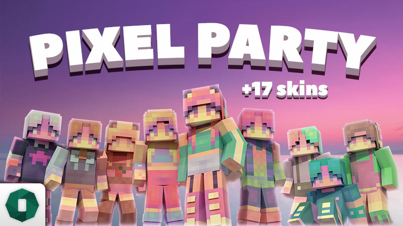 Pixel Party on the Minecraft Marketplace by Octovon